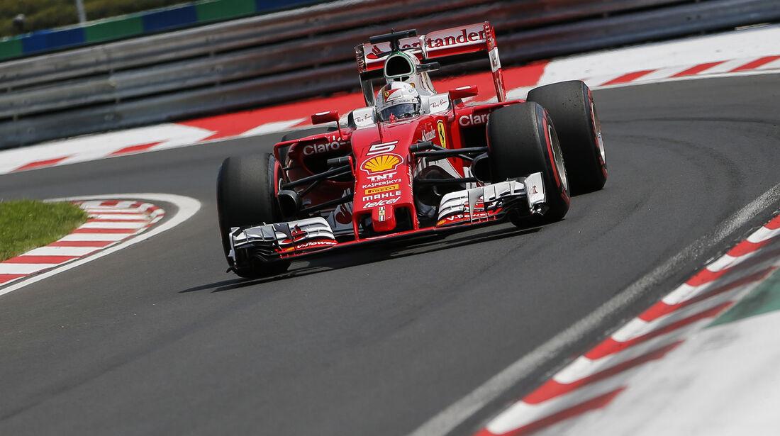 Sebastian Vettel - Formel 1 - GP Ungarn 2016