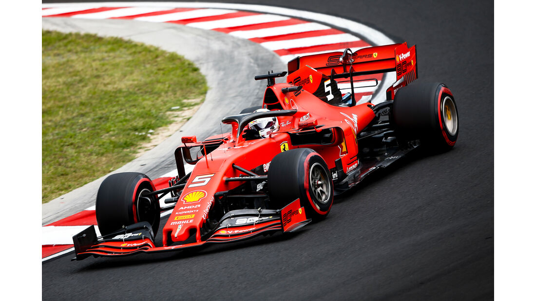 Sebastian Vettel - Formel 1 - GP Ungarn 2019