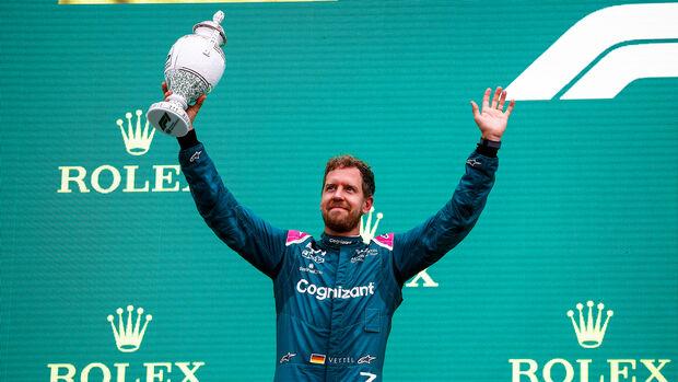 Sebastian Vettel - Formel 1 - GP Ungarn 2021