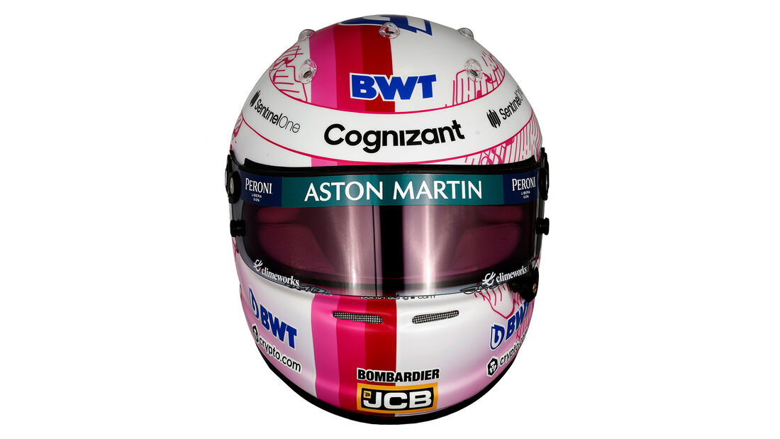 Sebastian Vettel - Formel 1 - Helm - 2021