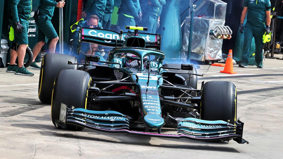 Sebastian Vettel - Formel 1  - Imola - GP Emilia Romagna 2021