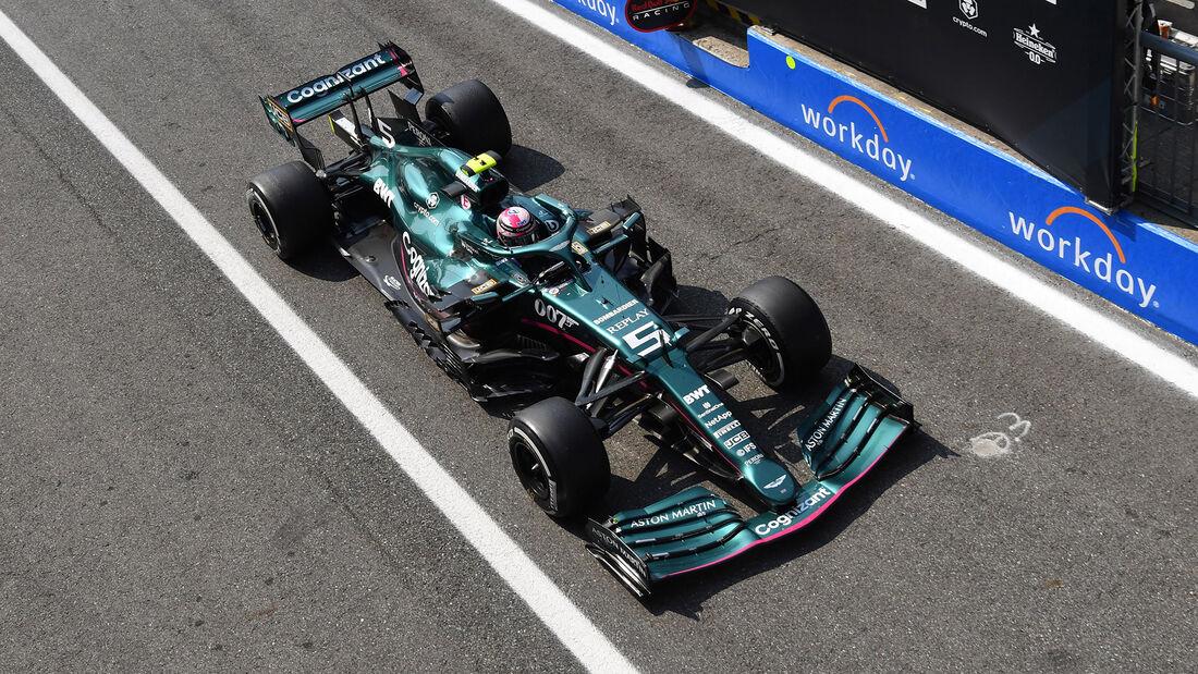 Sebastian Vettel - Formel 1 - Monza - GP Italien 2021