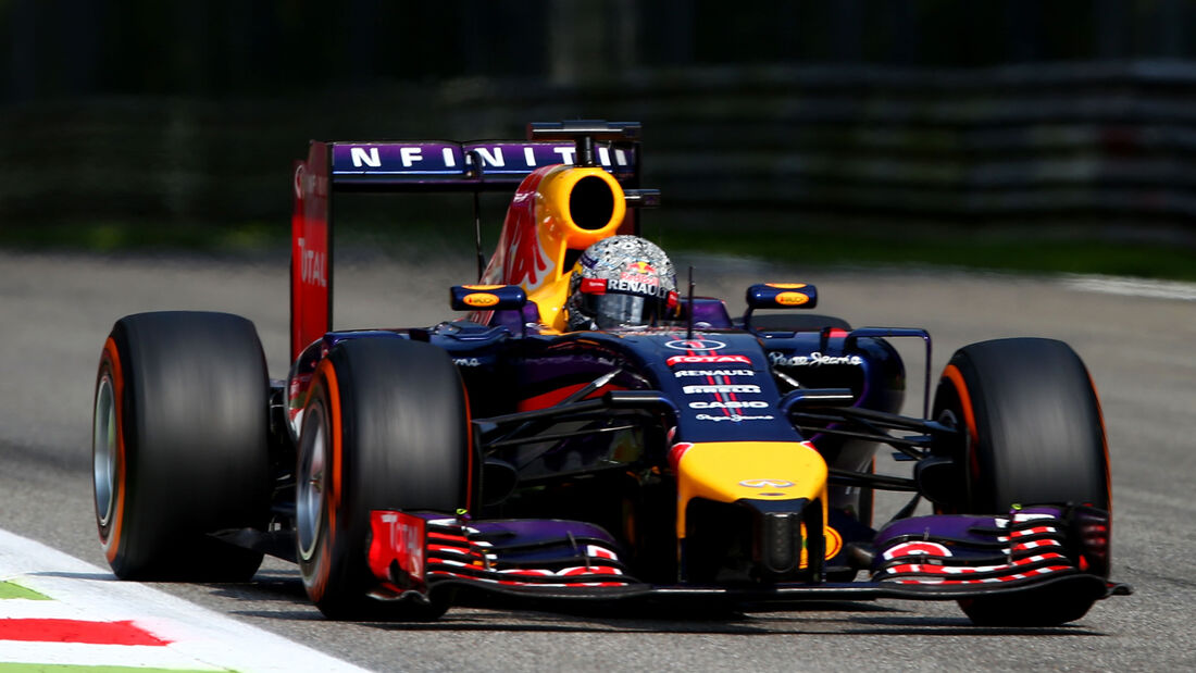 Sebastian Vettel - Formel 1 - Red Bull - GP Italien - 7. September 2014