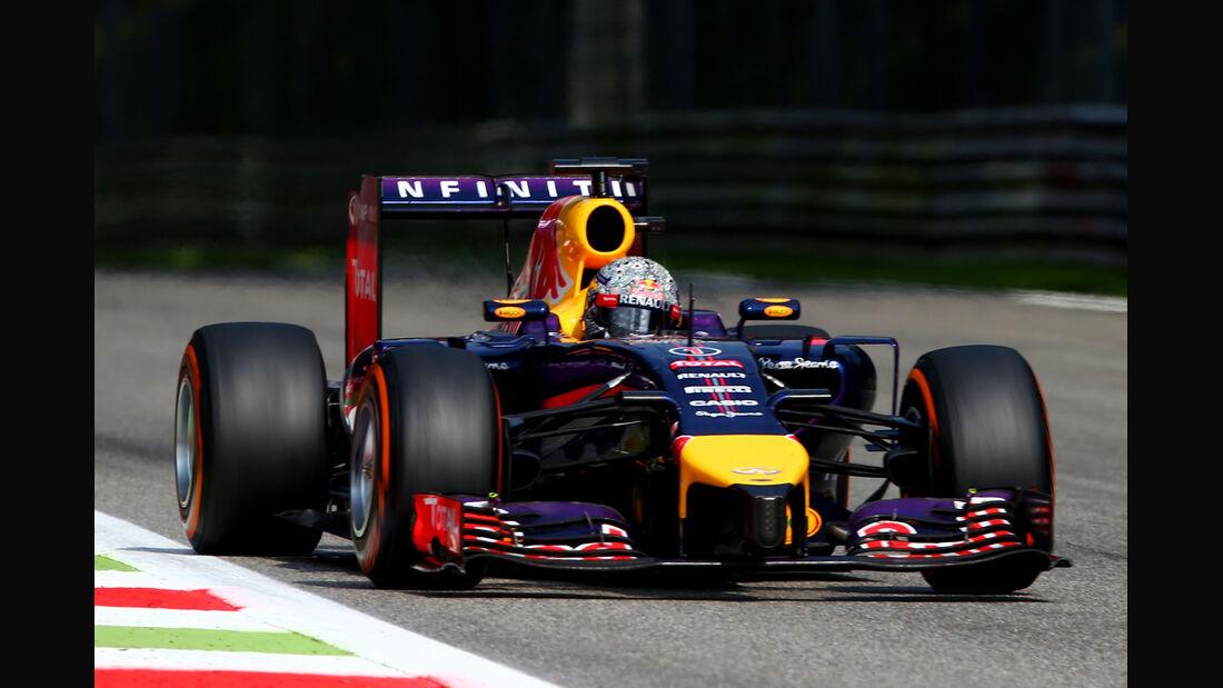 Sebastian Vettel - Formel 1 - Red Bull - GP Italien - 7. September 2014