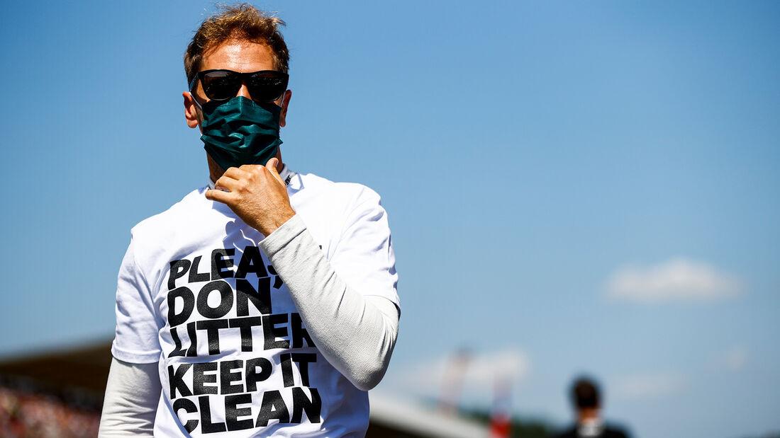 Sebastian Vettel - Formel 1 - Silverstone - GP England 2021