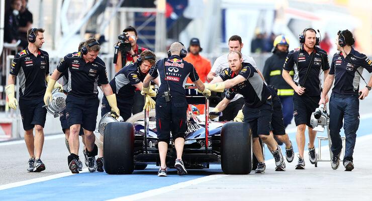 Sebastian Vettel - Formel 1 - Test - Bahrain - 2014