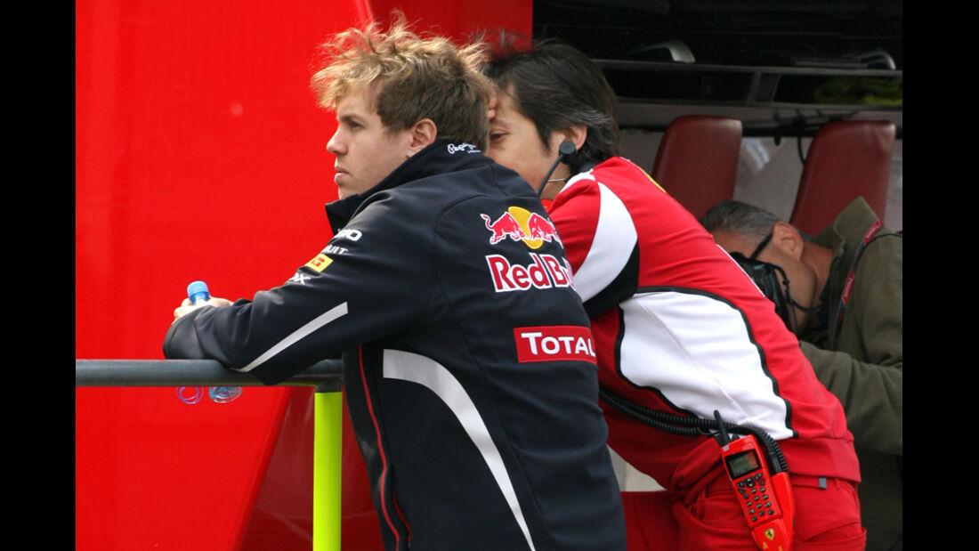 Sebastian Vettel - Formel 1-Test Barcelona - 3. März 2012
