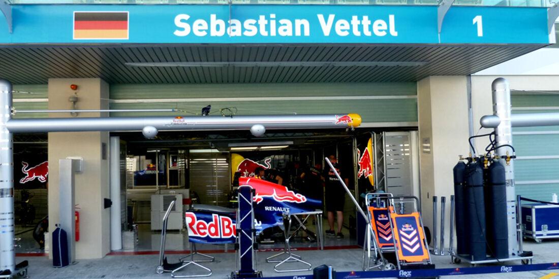Sebastian Vettel - GP Abu Dhabi - 10. November 2011