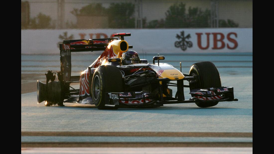 Sebastian Vettel - GP Abu Dhabi 2011