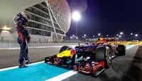 Sebastian Vettel GP Abu Dhabi 2012