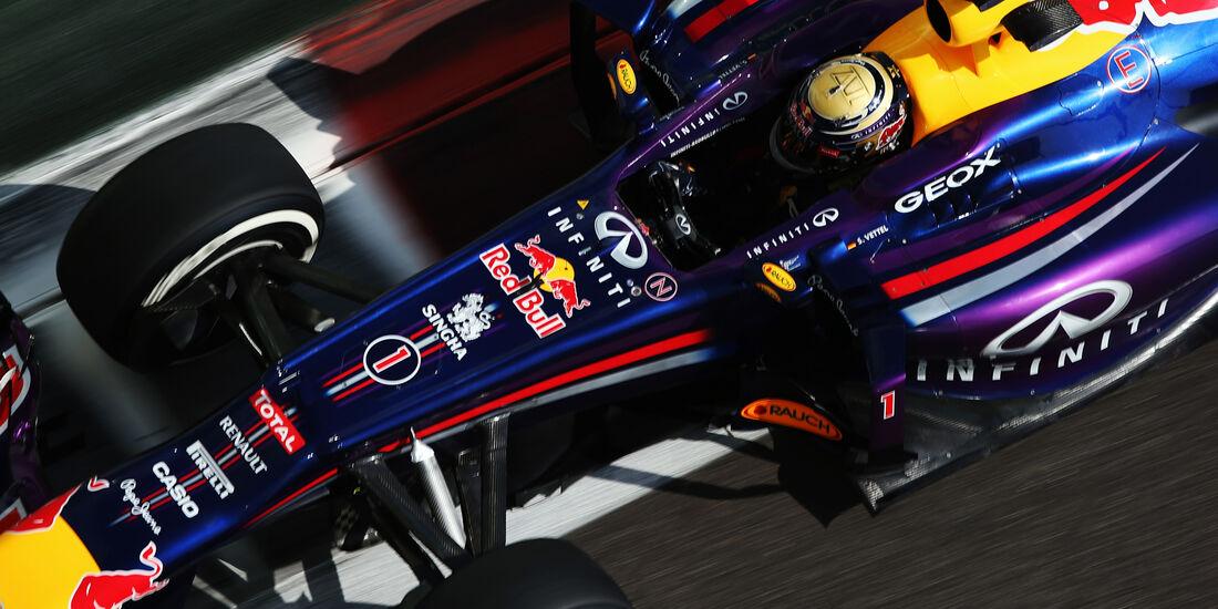 Sebastian Vettel GP Abu Dhabi 2013