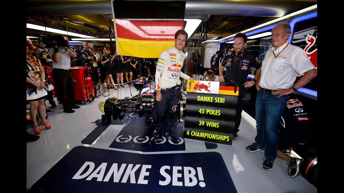 Sebastian Vettel - GP Abu Dhabi 2014