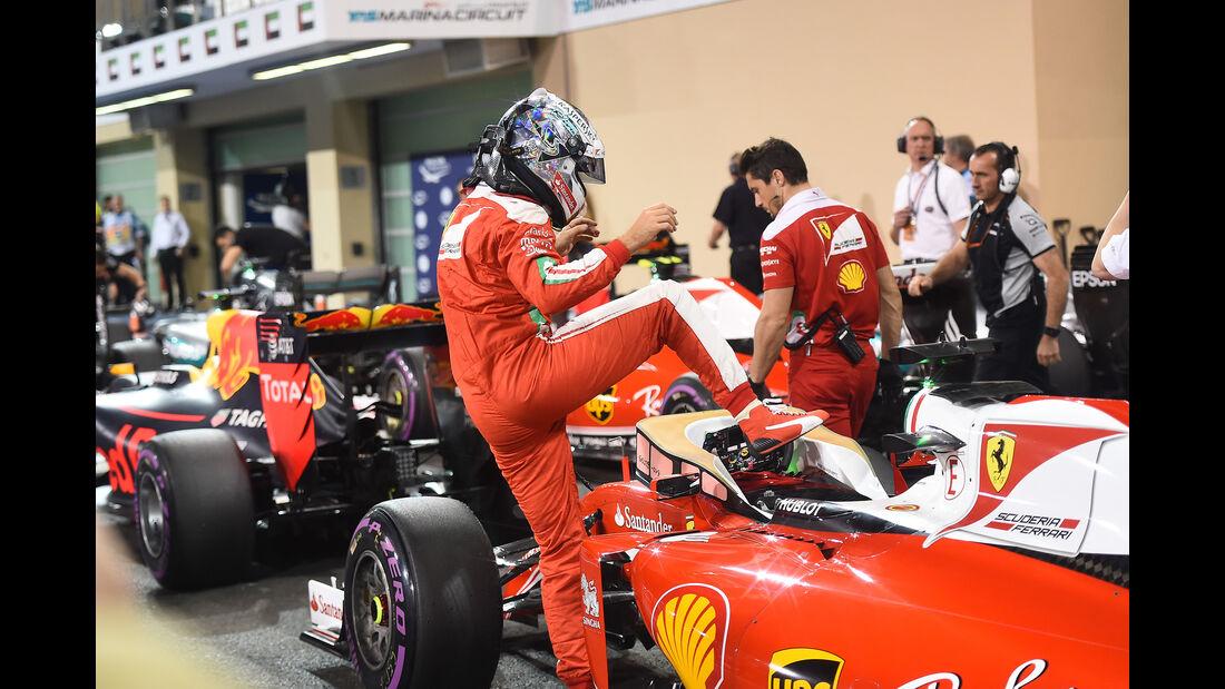 Sebastian Vettel - GP Abu Dhabi 2016