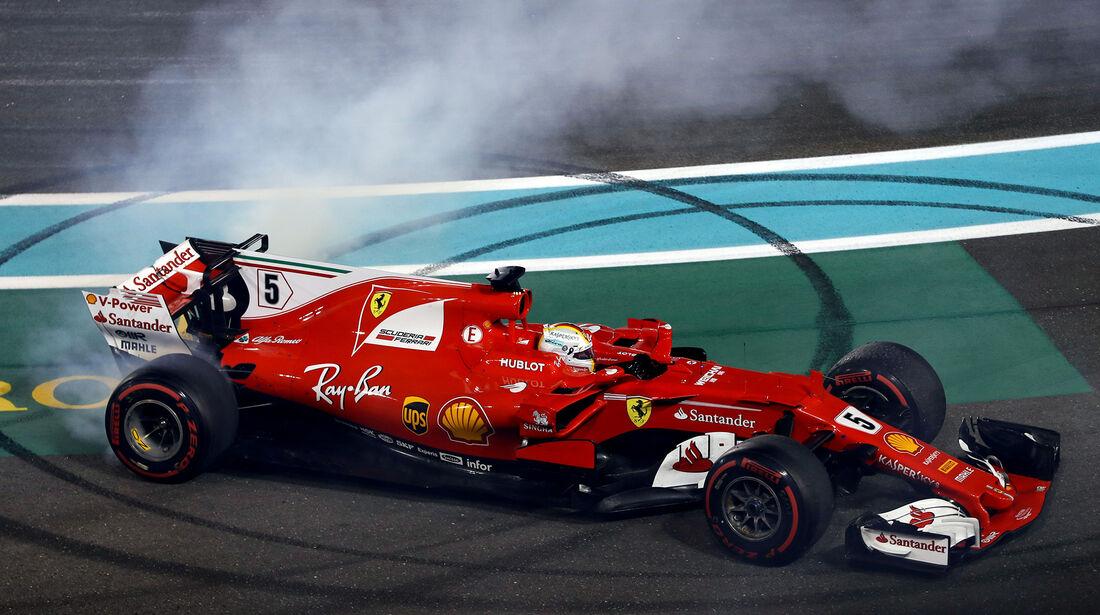 Sebastian Vettel - GP Abu Dhabi 2017
