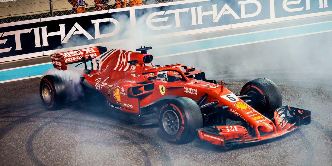 Sebastian Vettel - GP Abu Dhabi 2018