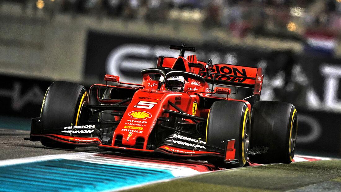 Sebastian Vettel - GP Abu Dhabi 2019