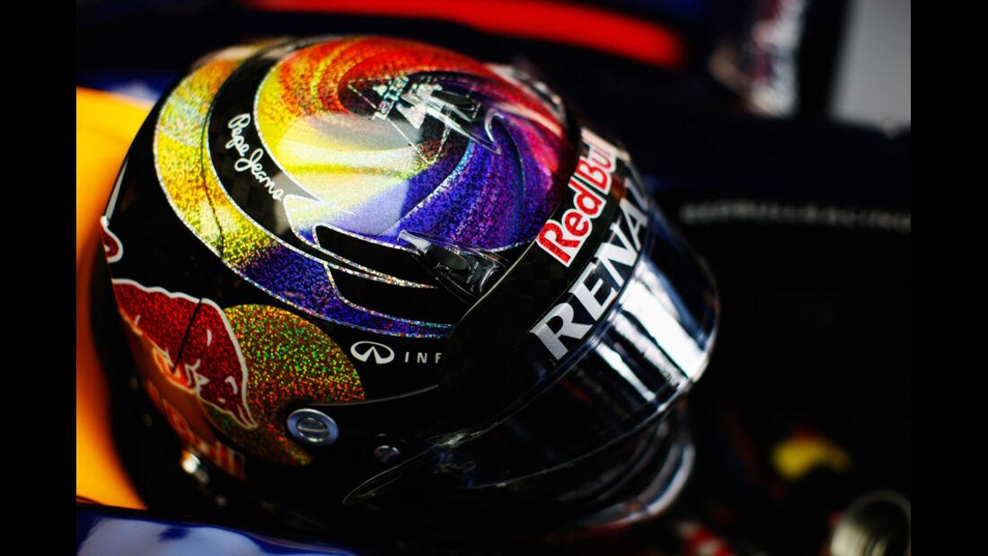 Sebastian Vettel - GP Abu Dhabi - Freies Training - 11. November 2011