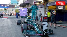 Sebastian Vettel - GP Aserbaidschan 2021 - Formel Schmidt