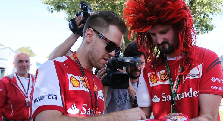 Sebastian Vettel - GP Australien 2015 - Melbourne