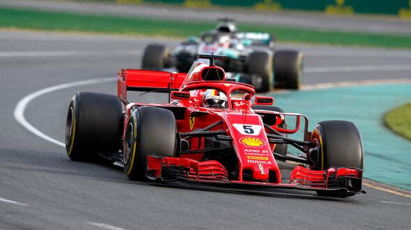 Sebastian Vettel - GP Australien 2018