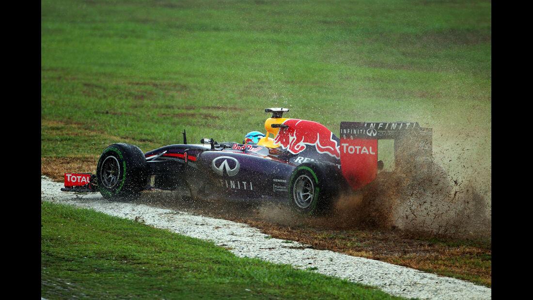 Sebastian Vettel - GP Australien - Crashs 2014