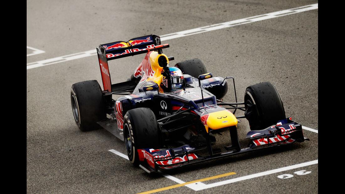 Sebastian Vettel GP Bahrain 2012