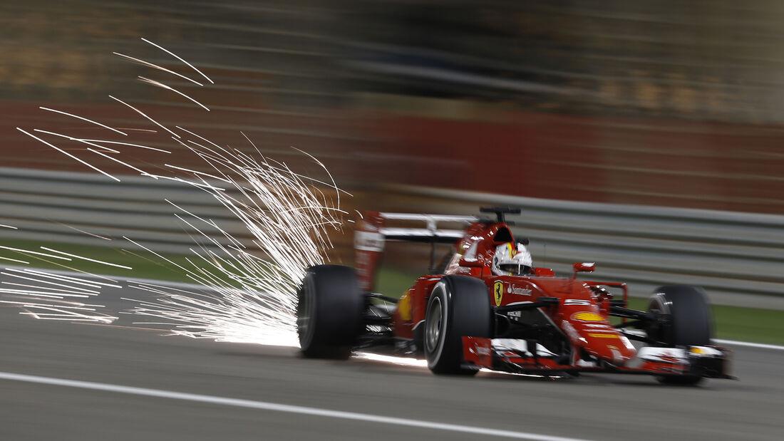 Sebastian Vettel - GP Bahrain 2015