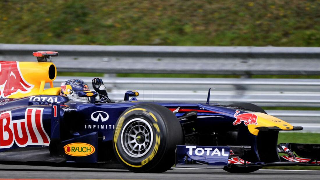 Sebastian Vettel GP Belgien 2011