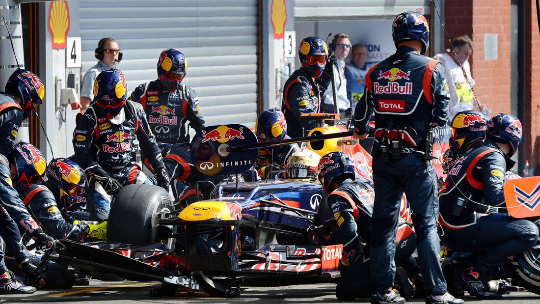 Sebastian Vettel - GP Belgien 2012
