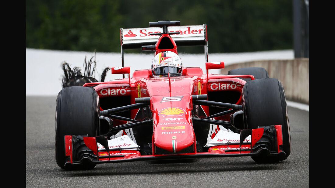 Sebastian Vettel - GP Belgien 2015