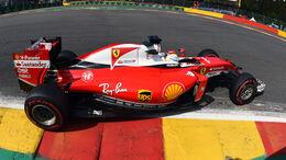 Sebastian Vettel - GP Belgien 2016