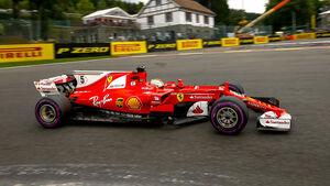 Sebastian Vettel - GP Belgien - 2017