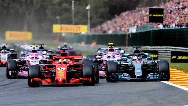 Sebastian Vettel - GP Belgien 2018