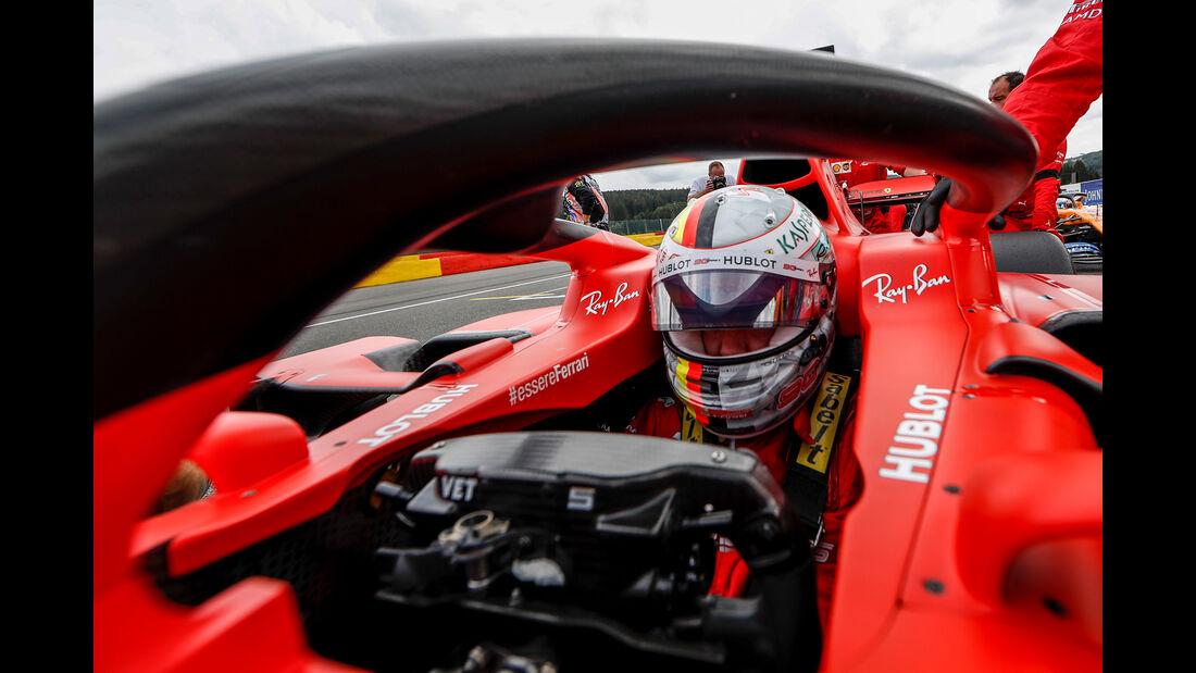 Sebastian Vettel - GP Belgien 2019