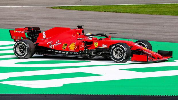 Sebastian Vettel - GP Belgien 2020