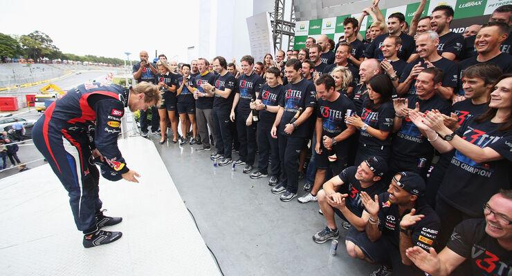 Sebastian Vettel GP Brasilien 2012
