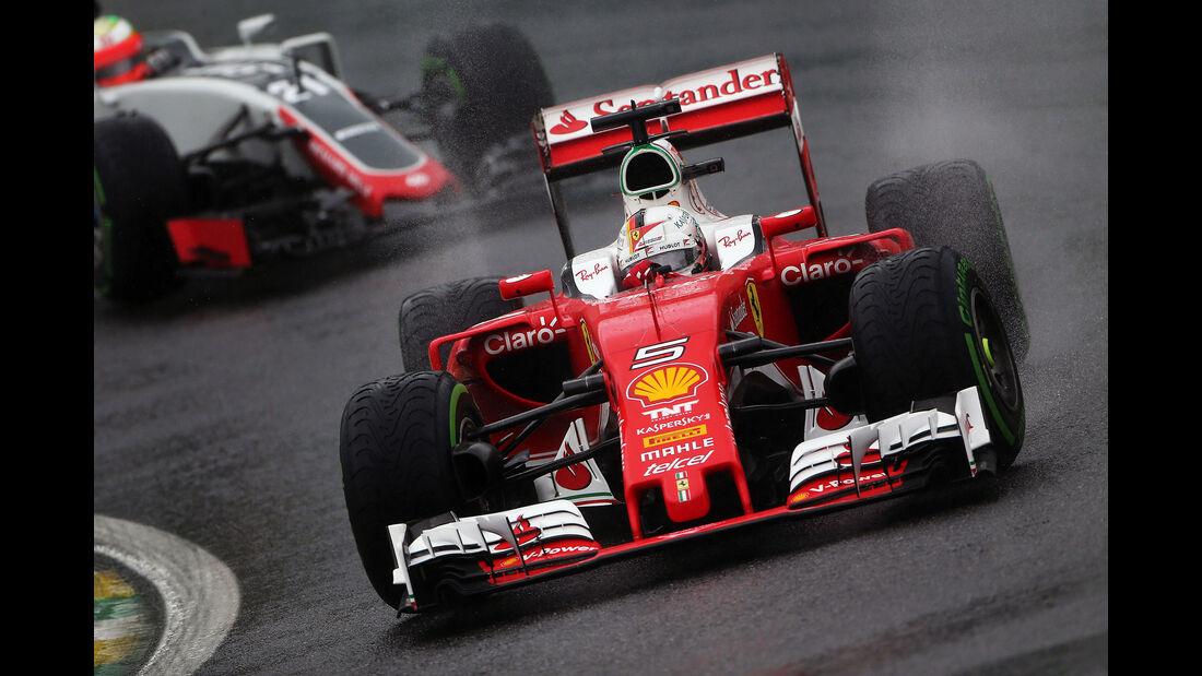 Sebastian Vettel - GP Brasilien 2016