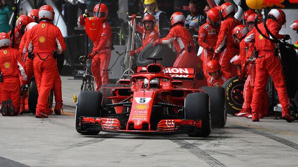 Sebastian Vettel - GP Brasilien 2018