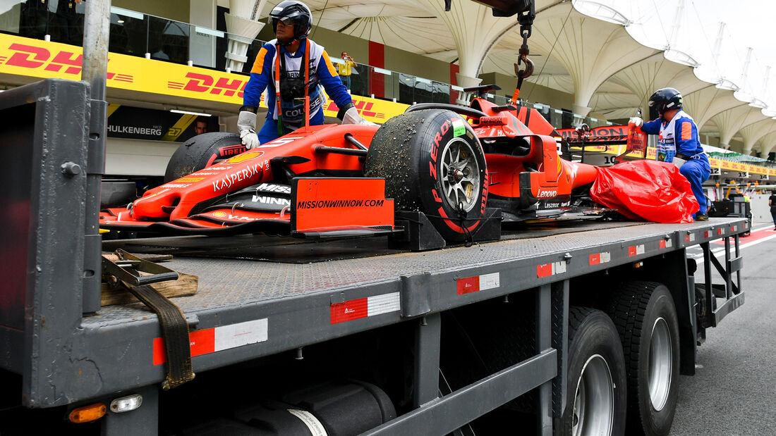 Sebastian Vettel - GP Brasilien 2019