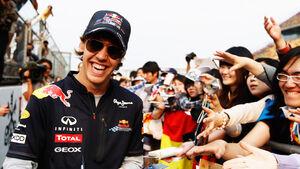 Sebastian Vettel GP China 2011