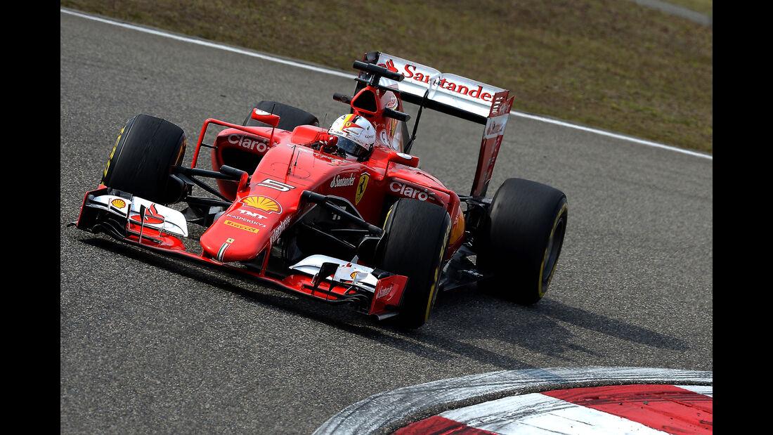 Sebastian Vettel - GP China 2015