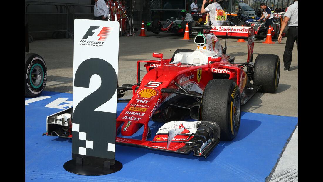 Sebastian Vettel - GP China 2016