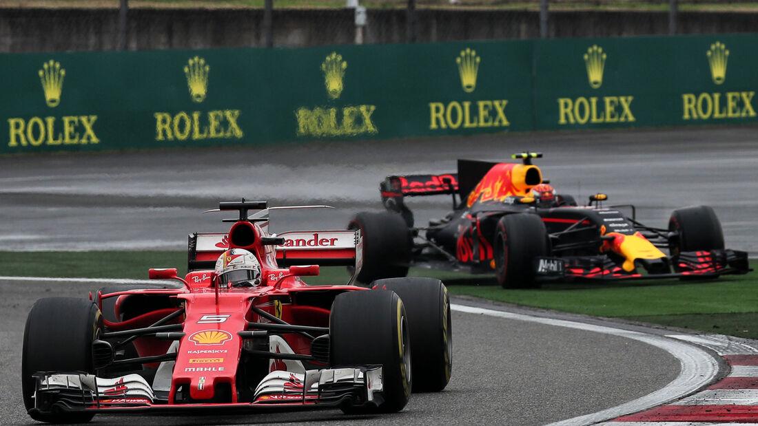 Sebastian Vettel - GP China 2017 - Shanghai - Rennen