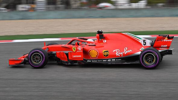 Sebastian Vettel - GP China 2018