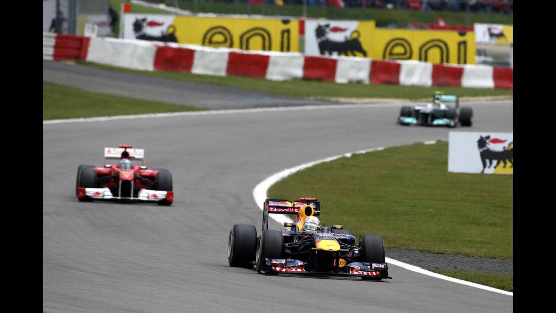 Sebastian Vettel GP Deutschland 2011