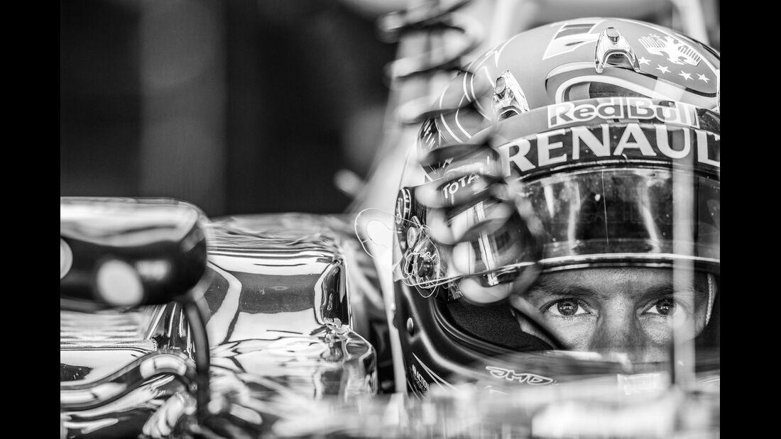Sebastian Vettel - GP Deutschland 2014 - Danis Bilderkiste
