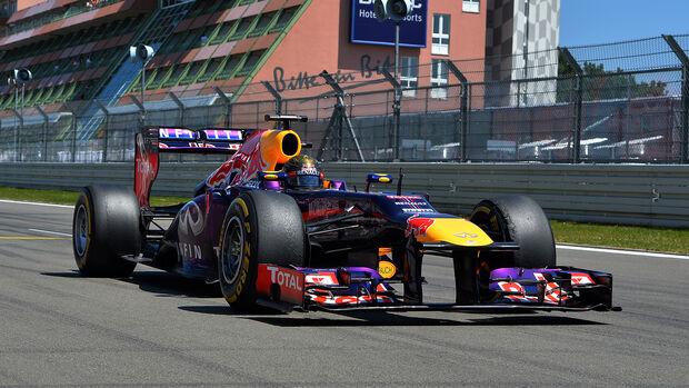 Sebastian Vettel - GP Deutschland - Nürburgring 2013
