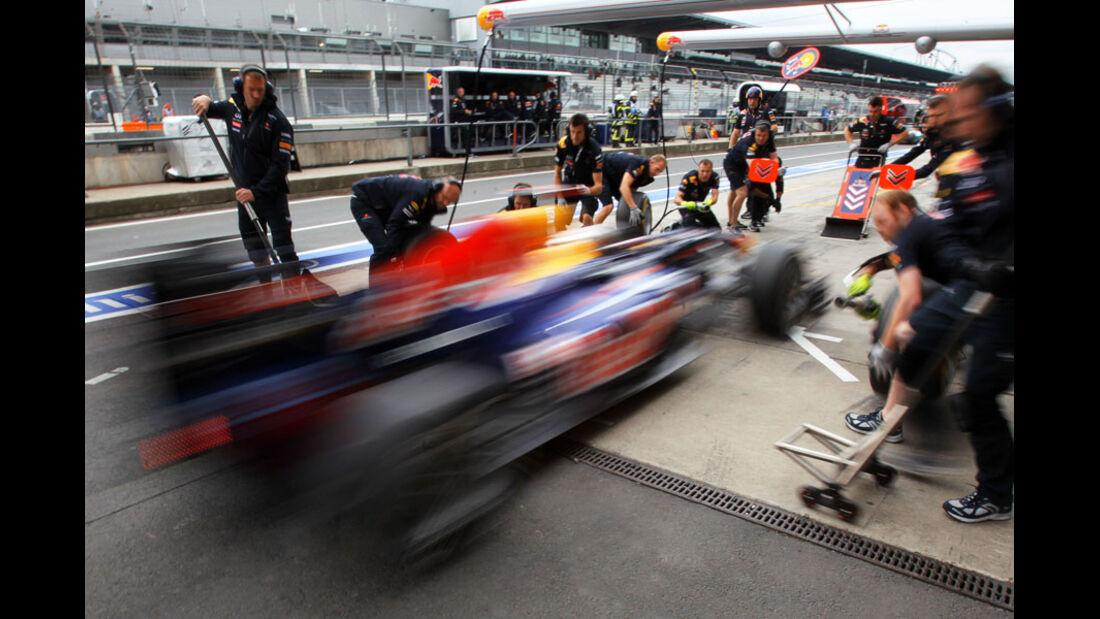 Sebastian Vettel - GP Deutschland - Nürburgring - 22. Juli 2011