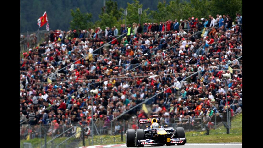 Sebastian Vettel - GP Deutschland - Nürburgring - 23. Juli 2011