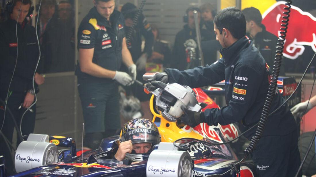 Sebastian Vettel GP England 2011